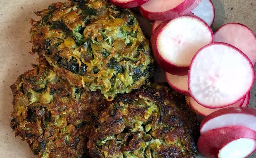 haftanın vegan mücveri- kabak, ıspanak ve yeşilmercimek