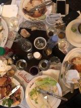 cafe charlot'ta harika bir yemeğin sonrası