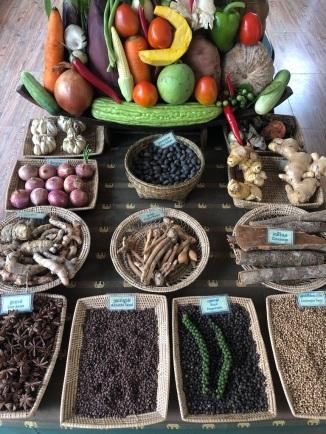 neary khmer'de kullanılan baharatlar